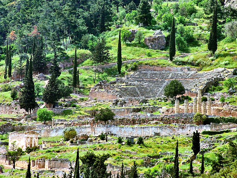 Reisevideo Zweiter Teil: Orakel von Delphi, Kloster Hosios Lukas, Orchomenos