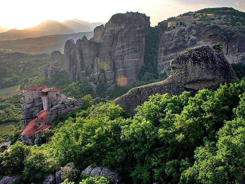 Reisevideo dritter Teil: Meteora-Klöster und  die Königsgräber von Vergina