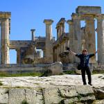 Aegina Tempel Aphaia Monika Tanz