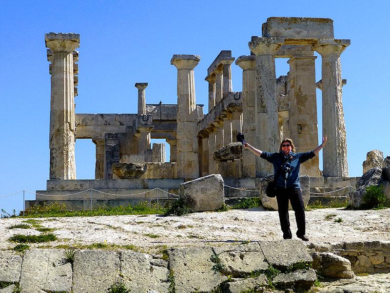 Von Piräus auf die Insel Ägina – eine Frühlingsreise zum Heiligtum der Aphaia