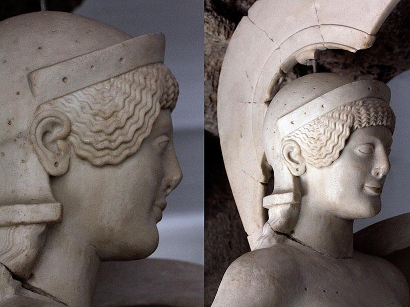 Aphaia war ursprünglich eine Tochter des Zeus und kretische Nymphe, die eine Ähnlichkeit mit Artemis aufweist.