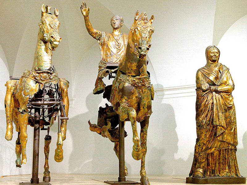 Die Marken, erster Teil: Via Flaminia und das Geheimnis der Skulpturen von Pergola