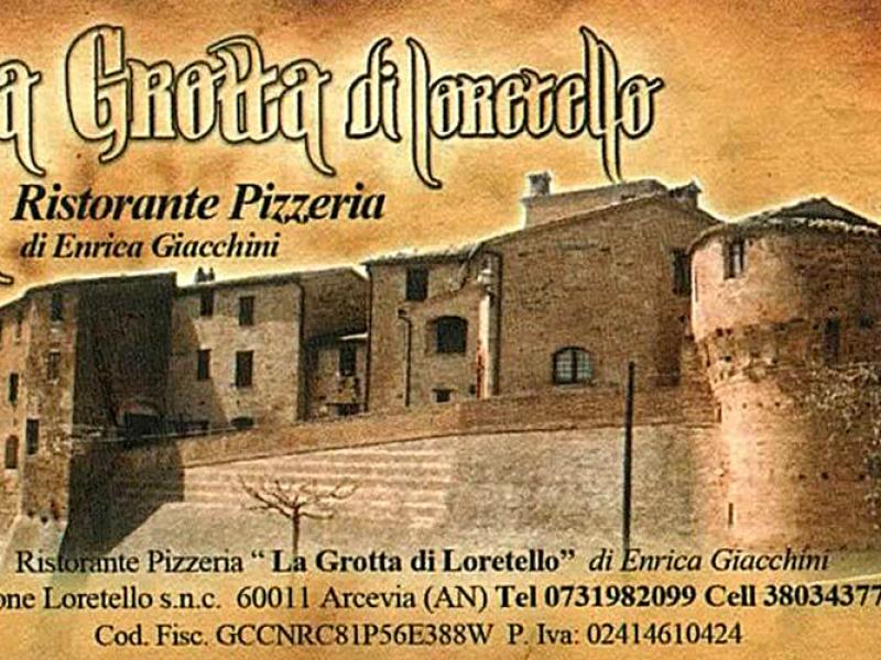 Visitenkarte des La Grotta di Loretello