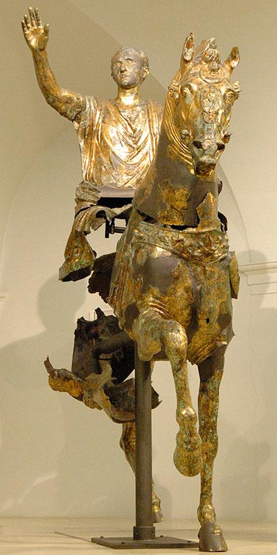 Ist das Nero Caesar, der Sohn des Feldherrn Germanicus? Foto: tourismo.marche.it