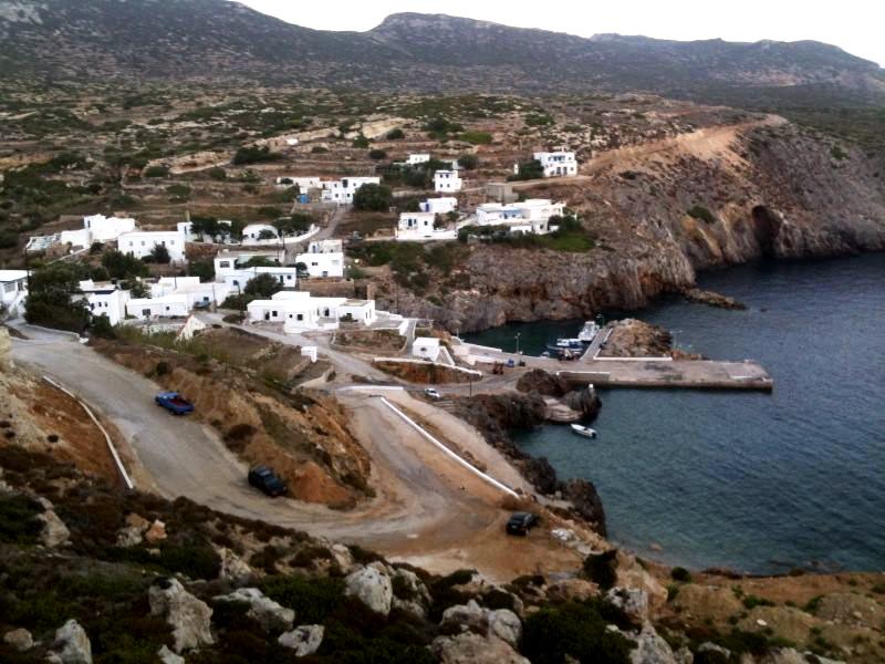 Andikythira ist eine kleine griechische Insel zwischen Kythira und Kreta, sie nur noch etwa 60 Einwohner.