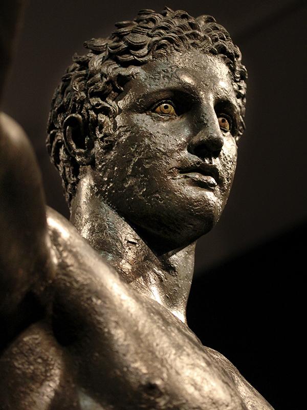 Kopf des Paris (oder Perseus).