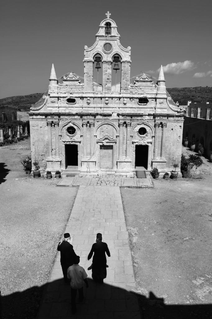 Griechenland: Kretische Mönche