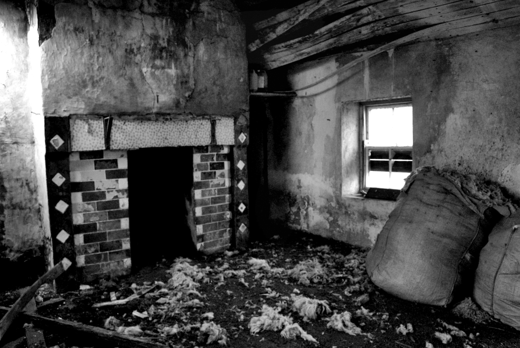 Irland: Verlassenes Haus