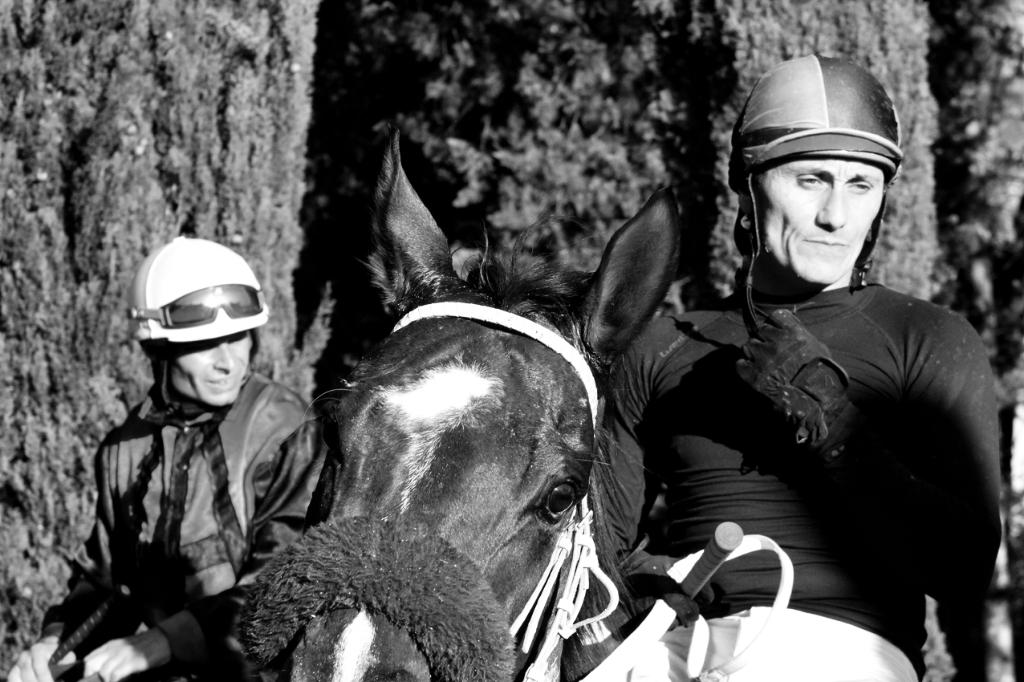 Italien: Jockeys