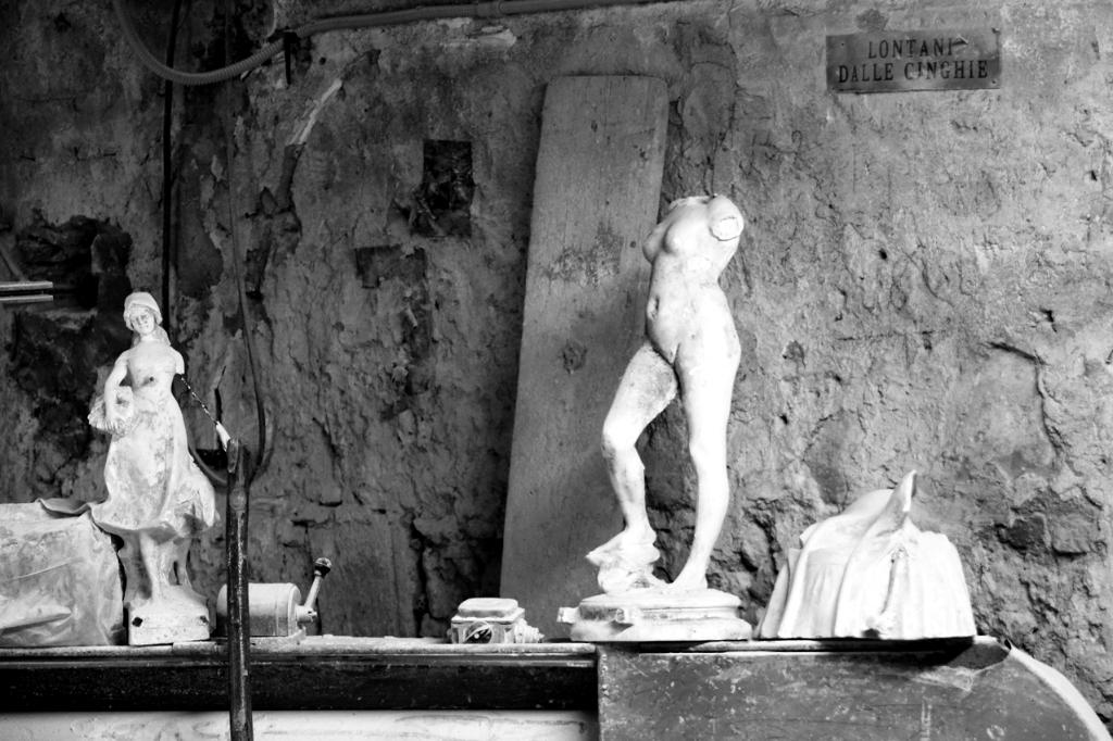 Italien: Alabasterwerkstatt