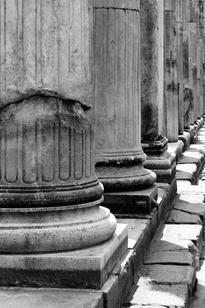 Türkei: Ionische Säulenbasen