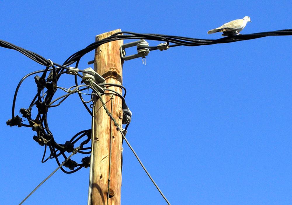 Die Stromversorgung.