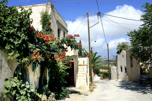Altes kretisches Dorfhaus in Listaros, leider unbewohnt.