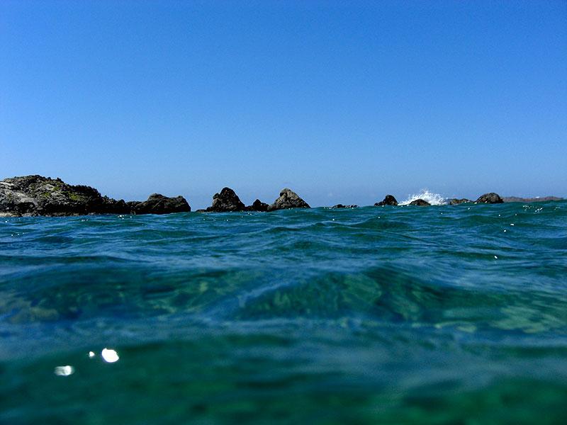 Starke Strömung und kaltes Wasser: Kein Vergnügen aber trotzdem spannend.