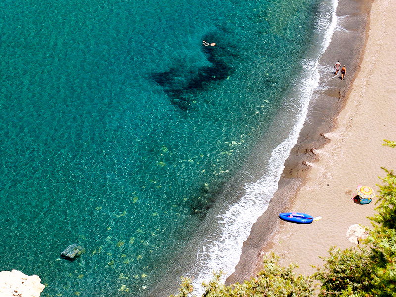 Karibikfeeling in Kreta.