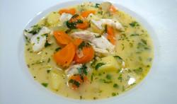 Allgemein Griechische Fischsuppe mit Eier-Zitronen-Sauce Griechische Fischsuppe mit Eier-Zitronen-Sauce