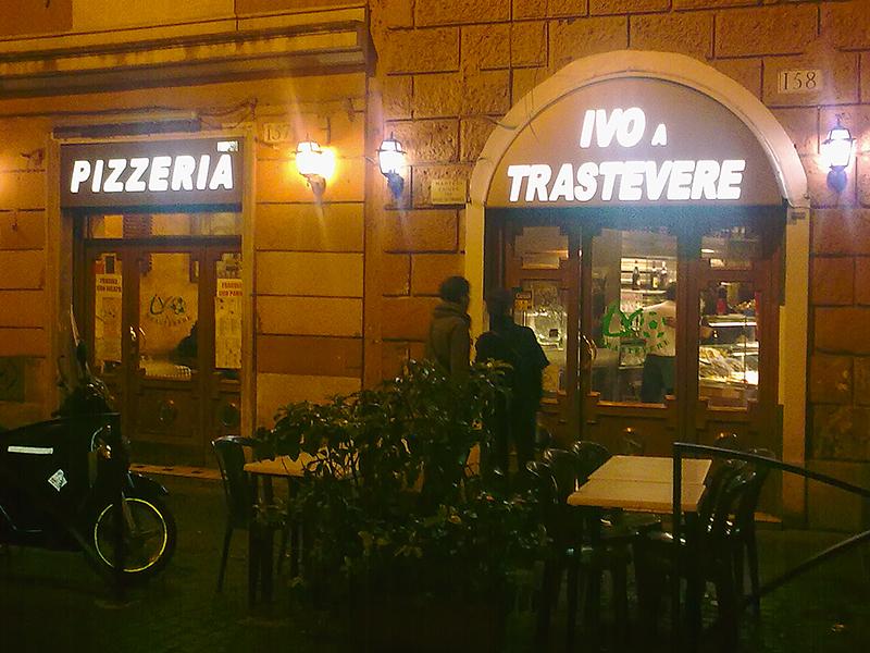 Beste Pizza von Rom: