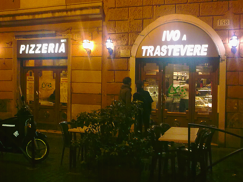 Pizzeria Ivo a Trastevere: Die beste Pizza in Rom!