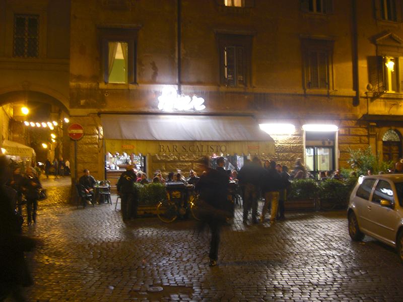 Trasteveres Nachtleben ist legendär ...