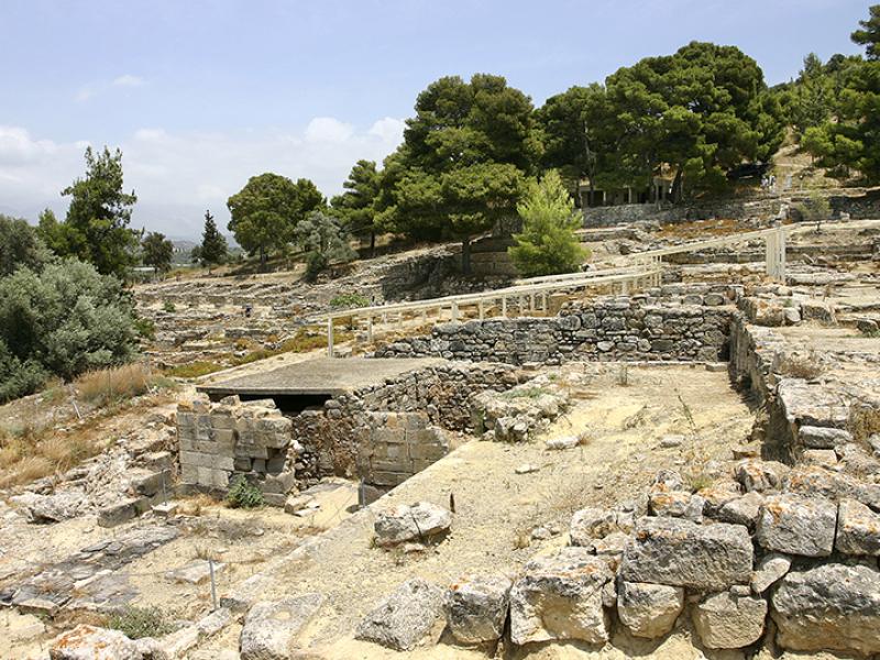 Überblick auf Agia Triada.