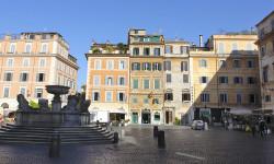 Piazza Stanta Maria in Trastevere, Rom