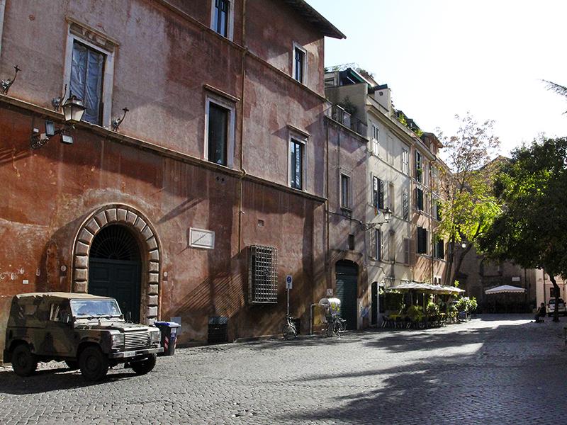 Trastevere war schon immer ein recht buntes Viertel.