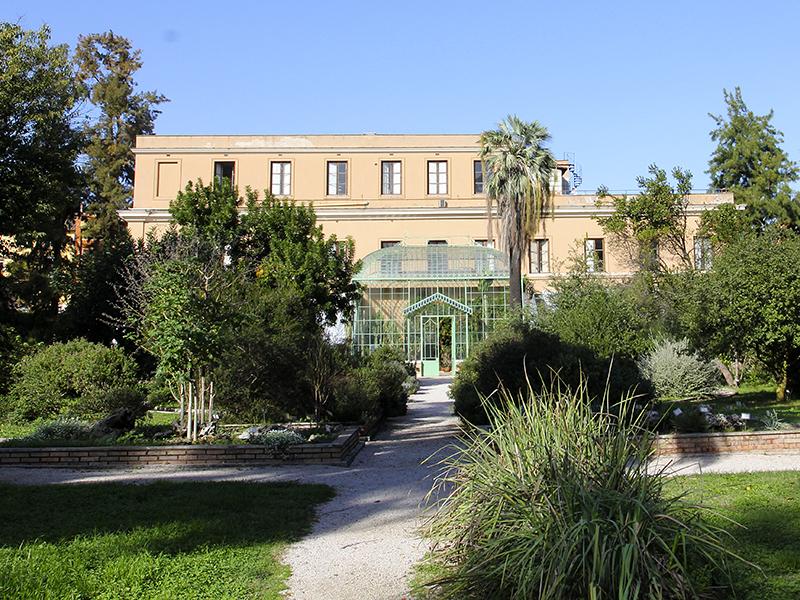 Ursprünglich war der Botanische Garten ein Teil des Palazzo Corsini.