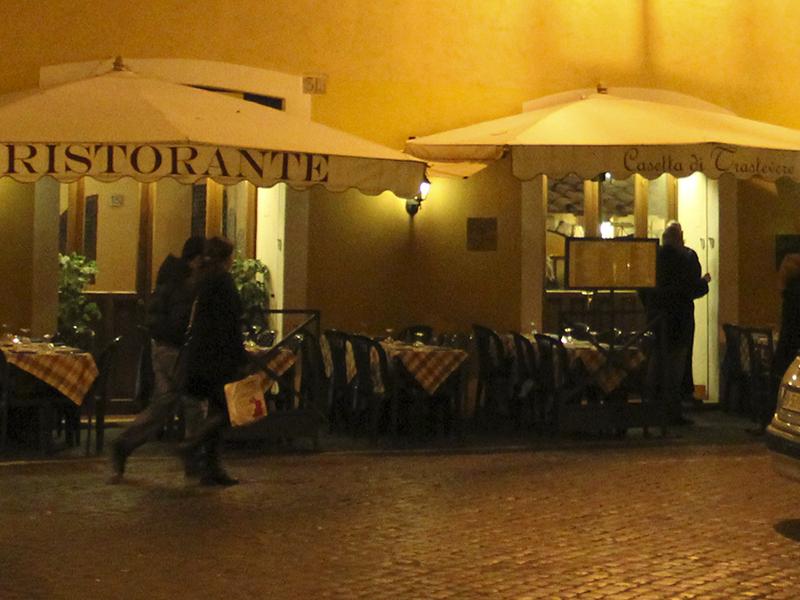 Malerisch, ruhig und günstig Essen in Rom: Ristorante