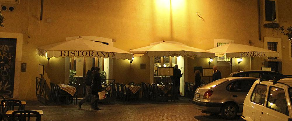 "Ristorante ""Casetta di Trastevere"", Trastevere, Rom"