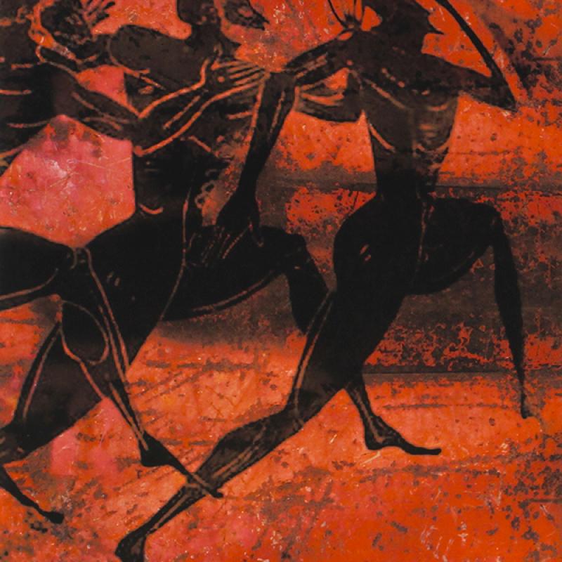 Griechische Athleten.