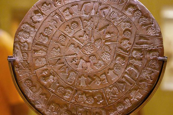 Der Diskos von Phaistos ist eines der bedeutendsten Fundstücke aus der Bronzezeit.