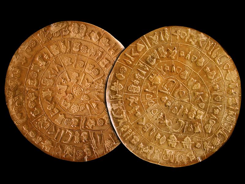 Die heilige Schrift der Minoer: Diskos von Phaistos entschlüsselt?