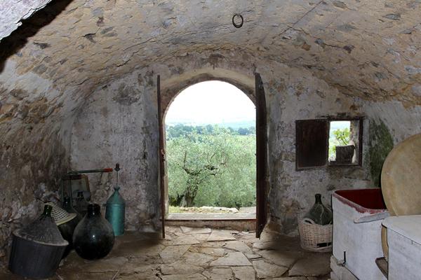 Alle Utensilien zur Weinherstellung sind vorhanden...