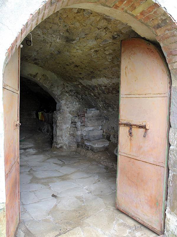 Eingang in den Keller.