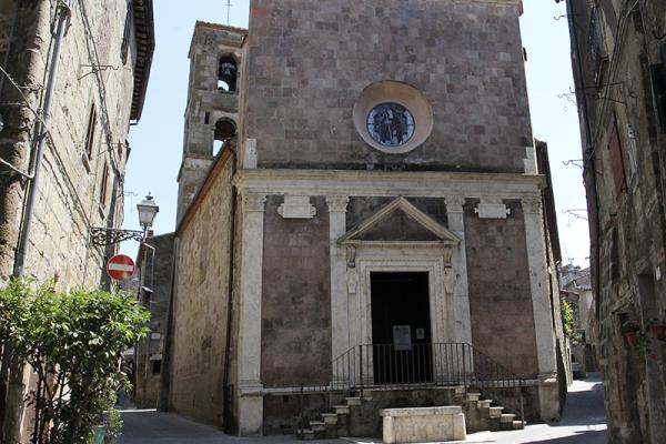 Die Kirche San Rocco.