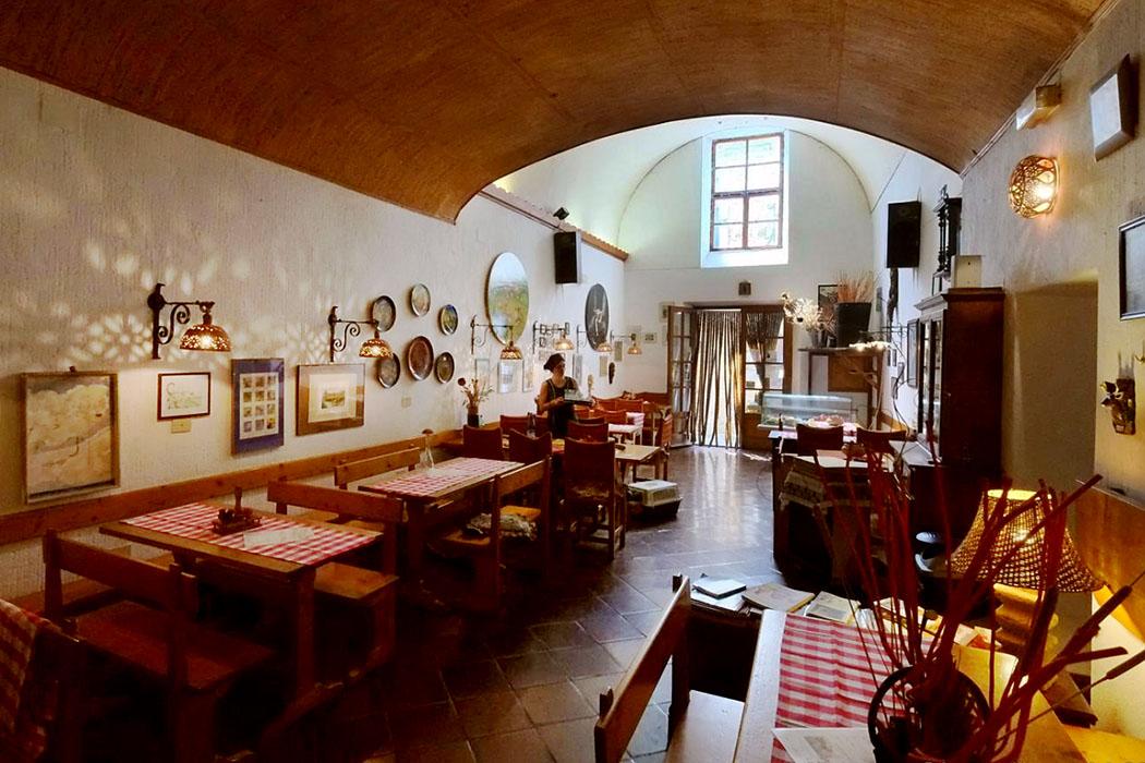 Locanda dell'Arco_Sorano - Die gemütliche Trattoria Locanda dell'Arco liegt im Zentrum der Altstadt von Sorano.