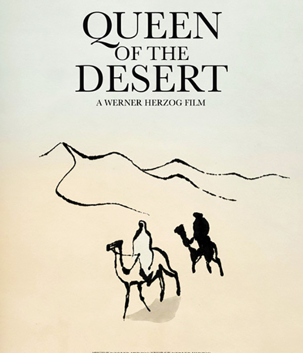 Filmposter von Queen of the desert.