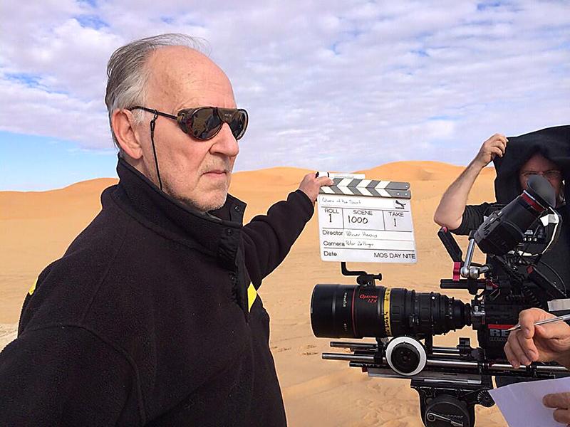Dreharbeiten in Marokko.