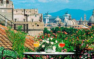 Rom: Dolce vita mit Panorama – Die Dachterrassen-Cocktailbar La Terraza Paradiso