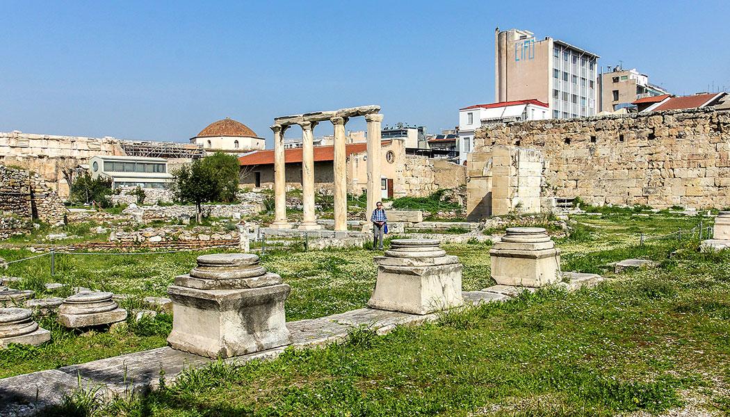 hadriansbibliothek athen griechenland