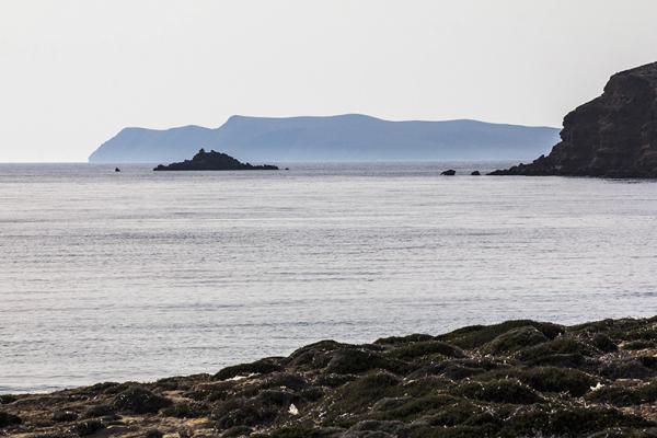 Die Inselgruppe der Dionyssiades gehört zum Naturschutzgebiet von Cavo Sideron.