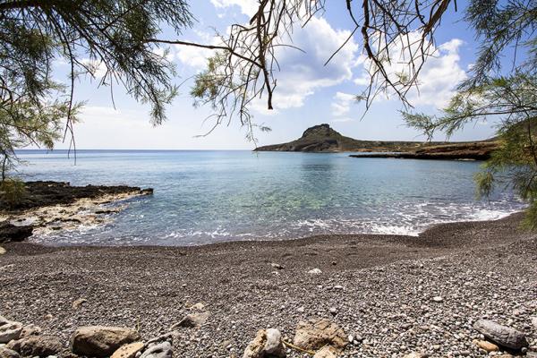 Ein wunderbarer Blick auf die Bucht.