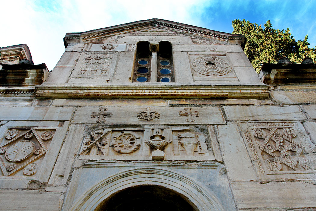 Panagia Gorgoepikoos Athens Greece Mikro Mitropolis