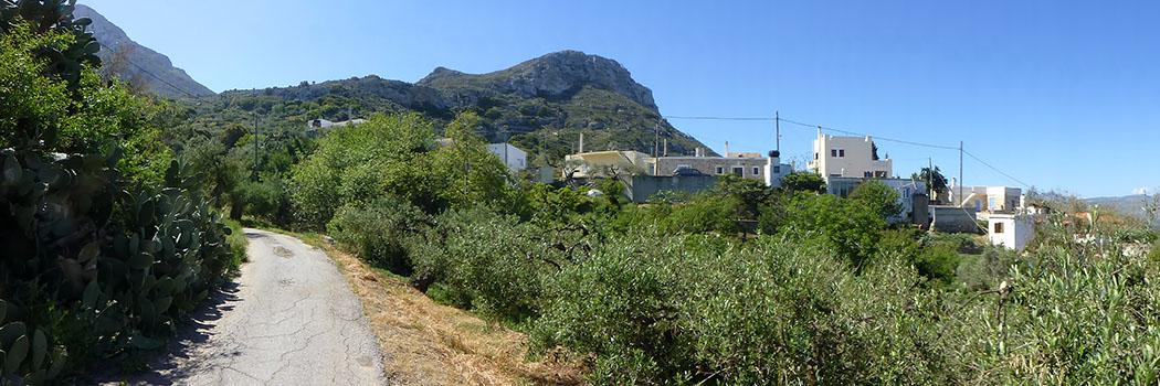 greece_crete_east_lasithi_sitia_piskokefalo_stravromeno_katodrys - Das kleine Bergdorf Kato Drys liegt etwa zehn Kilometer südlich von Piskokefalo an den Berghängen des Prinias.