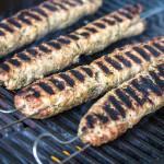Libanesische Kafta-Kebabs vom Grill