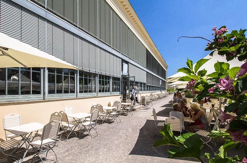 Das Schlosscafe im Palmenhaus ist das ganze Jahr über ein wunderbarer Platz für eine ausgiebige Rast.