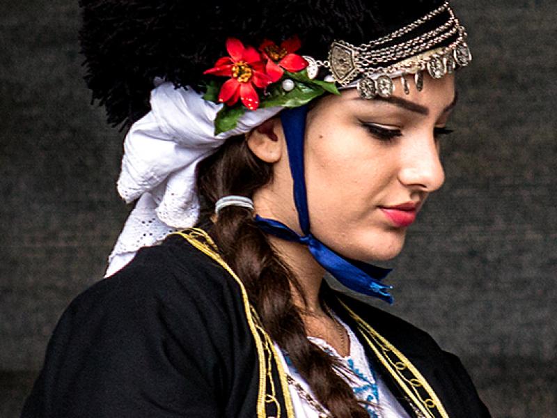 Makedonische Schönheit.