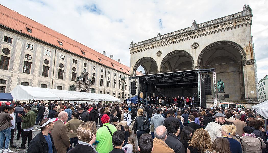 Servus Hellas! – 11. Griechisch-Bayerischer Kulturtag 2015 am Odeonsplatz in München