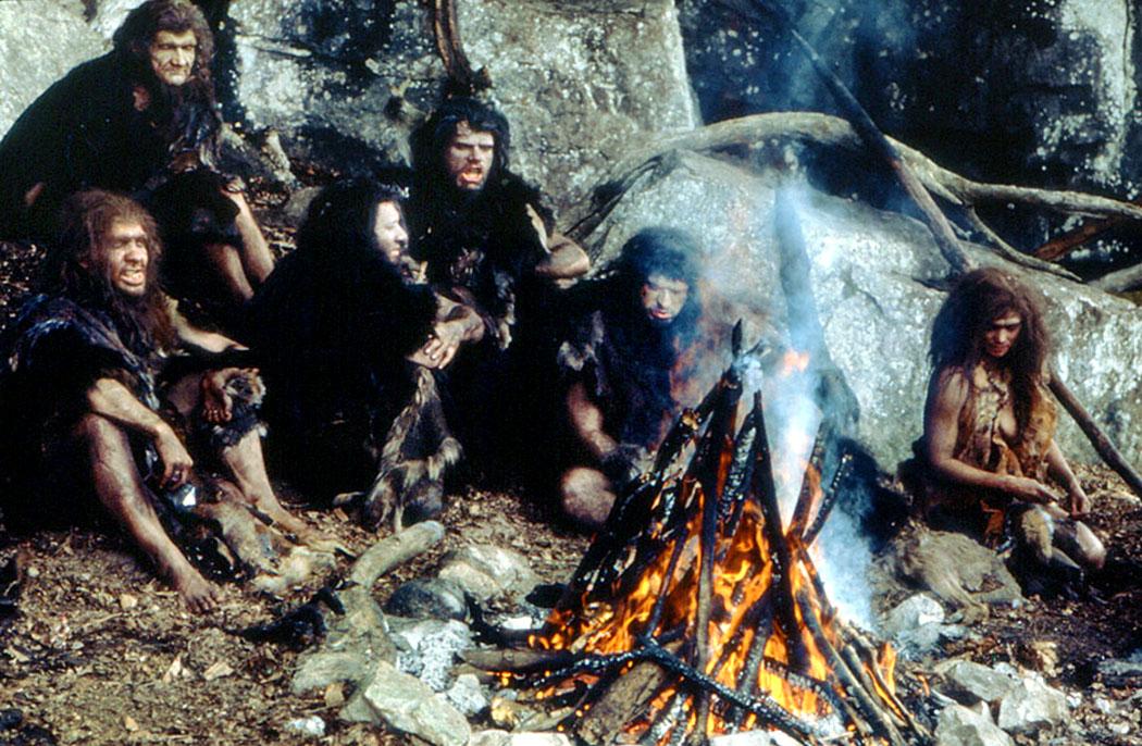 reise-zikaden.de, Altsteinzeit in Bayern: 12 Tourentipps zu Neandertaler-Höhlen Am Anfang war das Feuer_film_1981_0l
