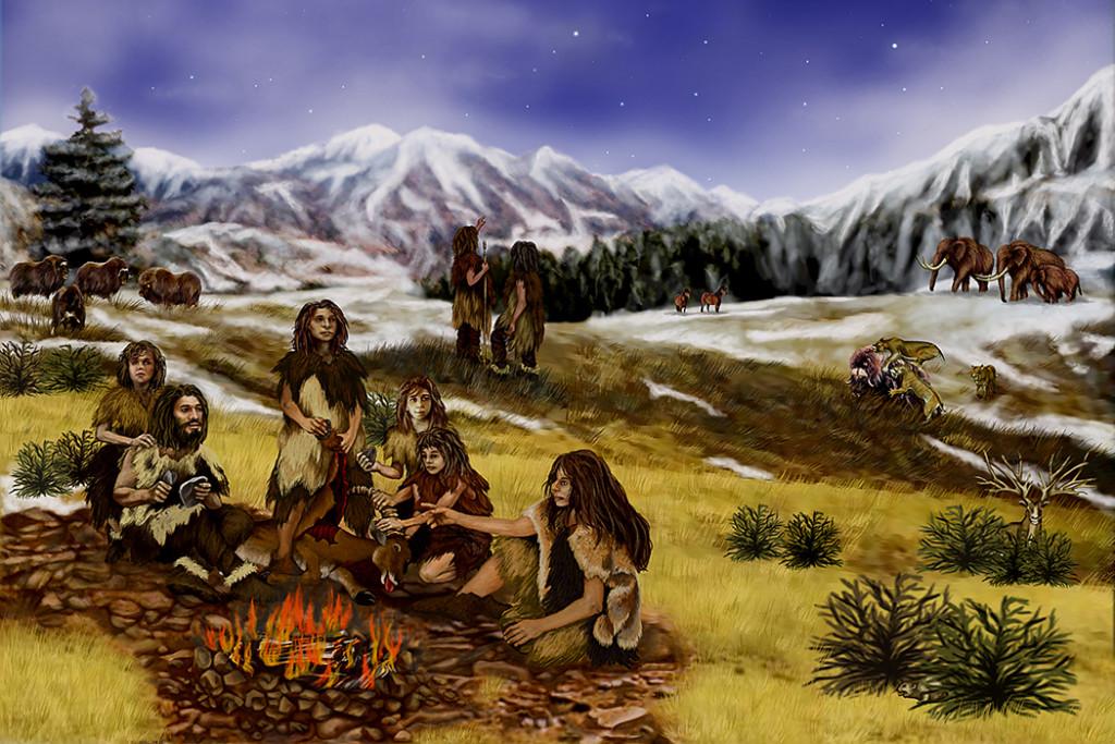 Die Neandertaler der Steinzeit lebten nicht nur in Höhlen, sondern auch auf Flächen der Alb.